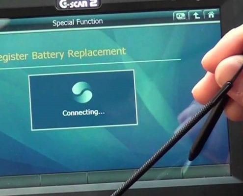 pic 2 g scan battery register